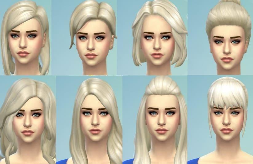 mods de pelo para mujer de Sims 4