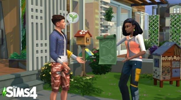 sims 4 eco lifestyle personajes