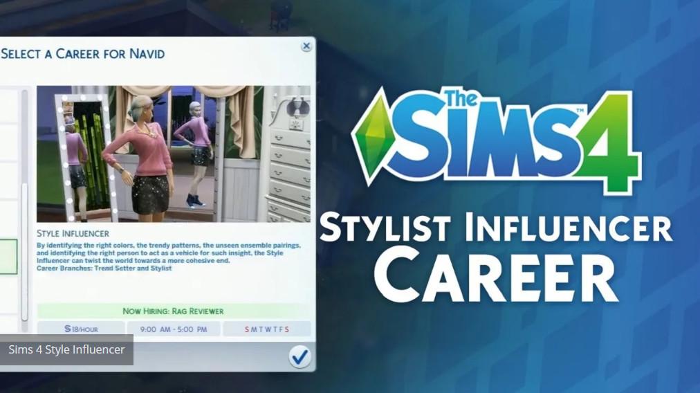 influencer sims 4
