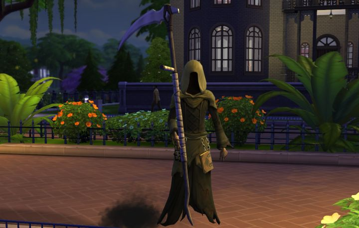 The Grim Reaper in The Sims 4