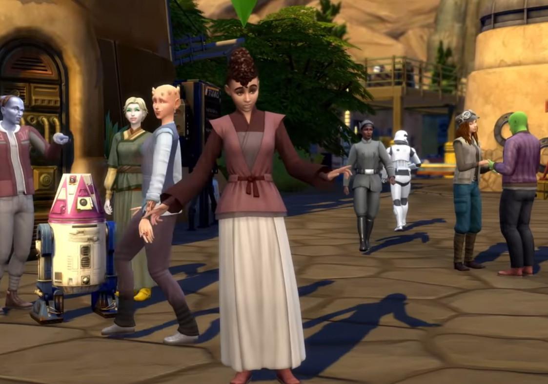 Los Sims 4 Star Wars: Viaje a Batuu Trailer oficial del juego