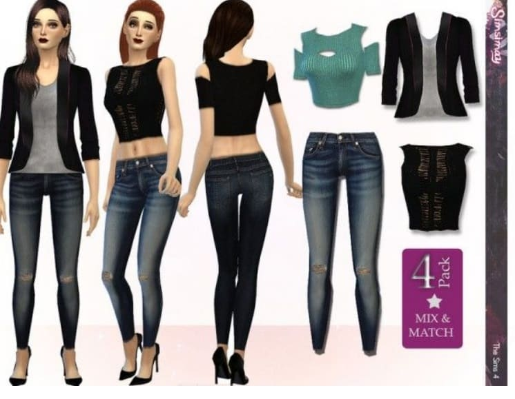 clothing mod sims4