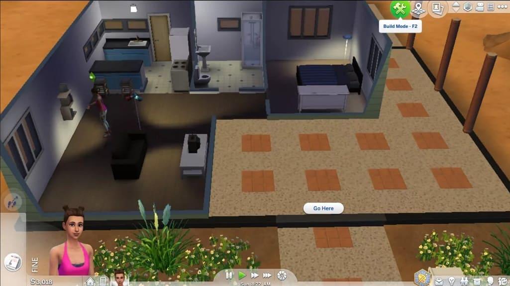 modo edicion Sims 4
