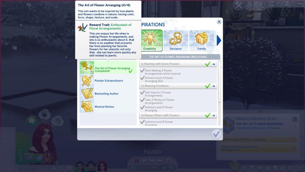 20 aspiraciones personalizadas para Los Sims 4 (de adolescente a mayor) –